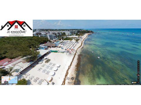 vendo 6000 m2 con 120m de playa en playa del carmen