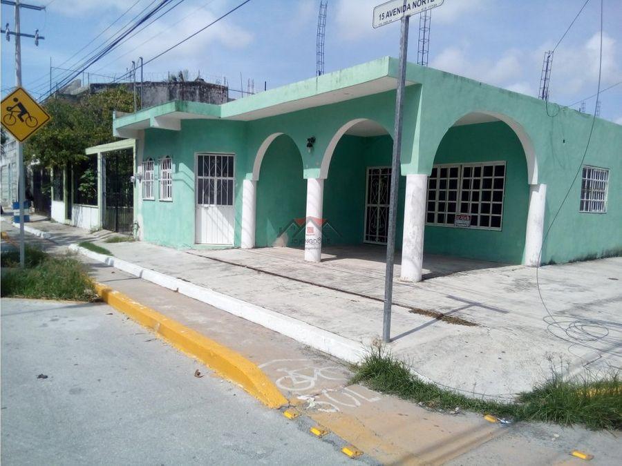vendo terreno esquina con proyecto 30 departamentos playa del carmen
