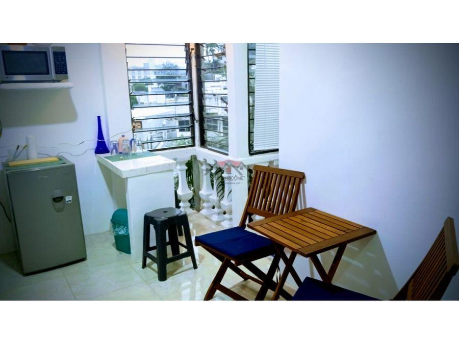 bonito departamento amueblado en renta caleta acapulco