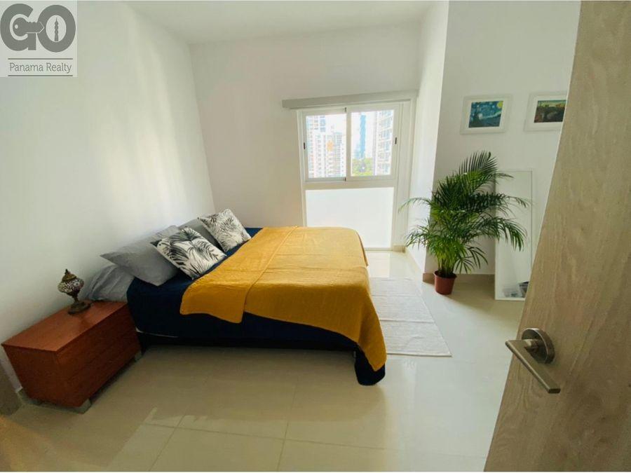apartamento en alquiler amoblado en bella vista ph 43 gv