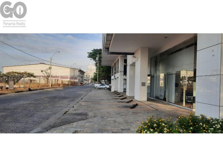 alquiler de local planta baja en avenida balboa