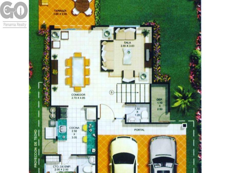 venta casa urbanizacion vista mar la chorrera