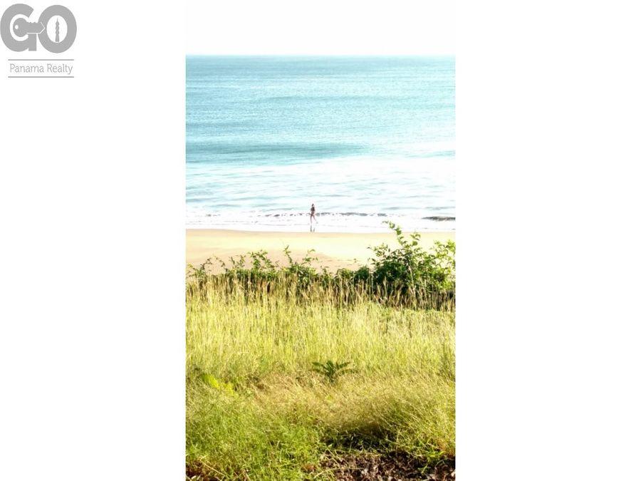 terreno en venta playa los destiladeros pedasi