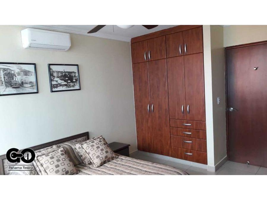 alquiler de apartamento amoblado en punta paitilla