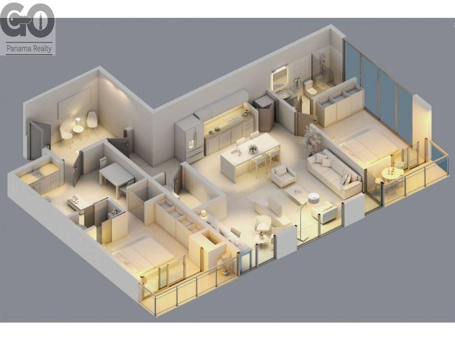 apartamento en venta en bella vista nuevo uptown