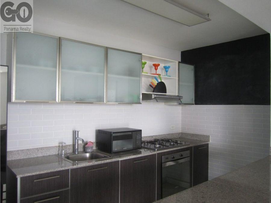 apartamento en alquiler en el cangrejo ph miro