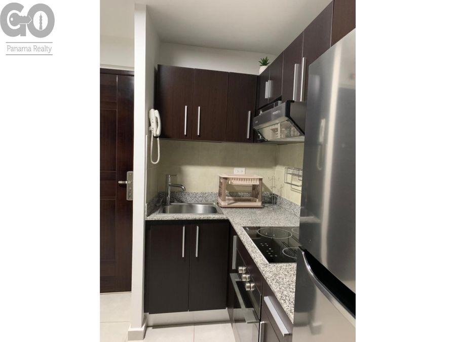 apartamento en alquiler amoblado en ph bay view en avenida balboa
