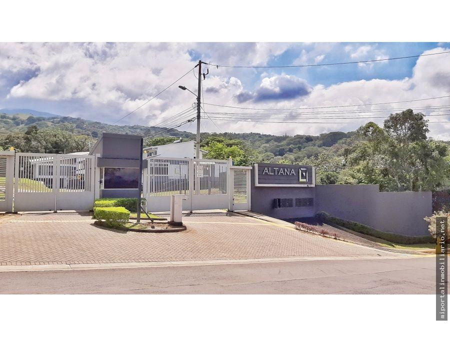 se vende lote en condominio en brasil de santa ana