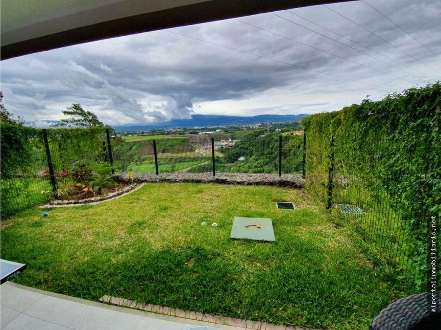 oportunidad casa amplia en guachipelin con grandiosa vista