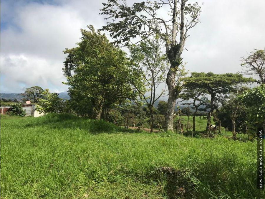 lote con vistas al valle central