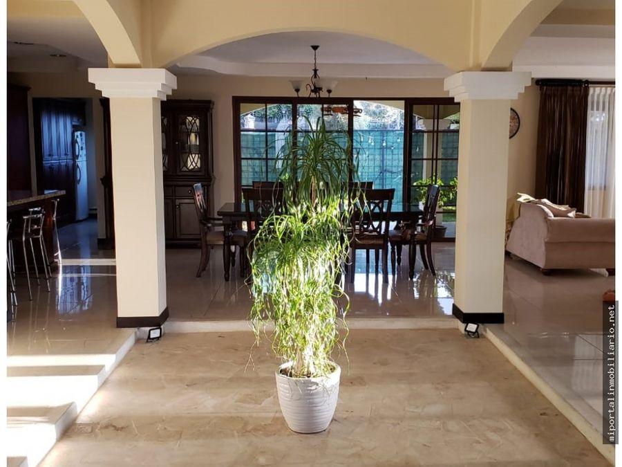 venta hermosa casa en oasis de tournon condominio