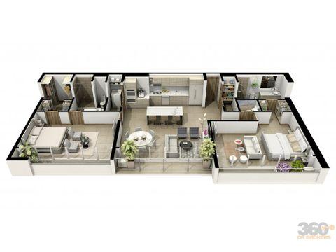 extraordinario penthouse en rohrmoser