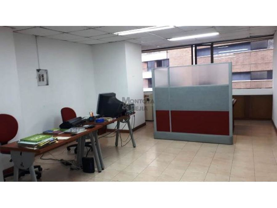 oficina en edificio en manila el poblado