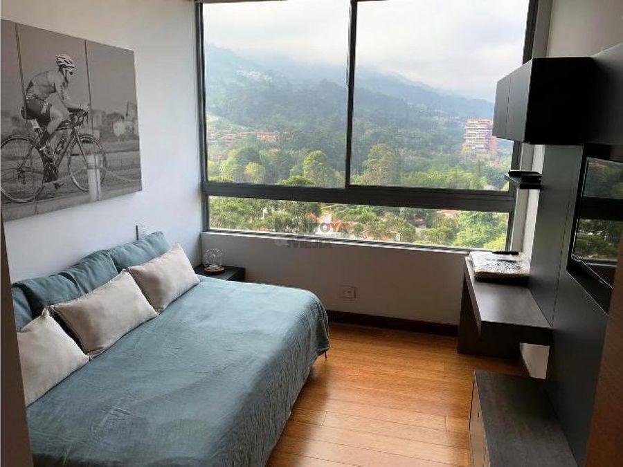 espectacular apartamento en los balsos