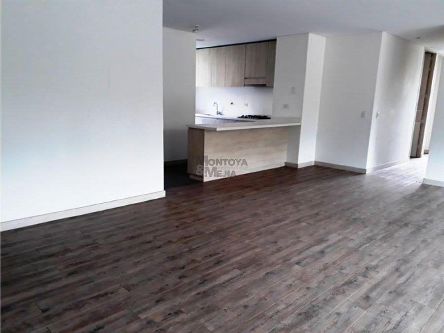apartamento para venta en loma de benedictinos