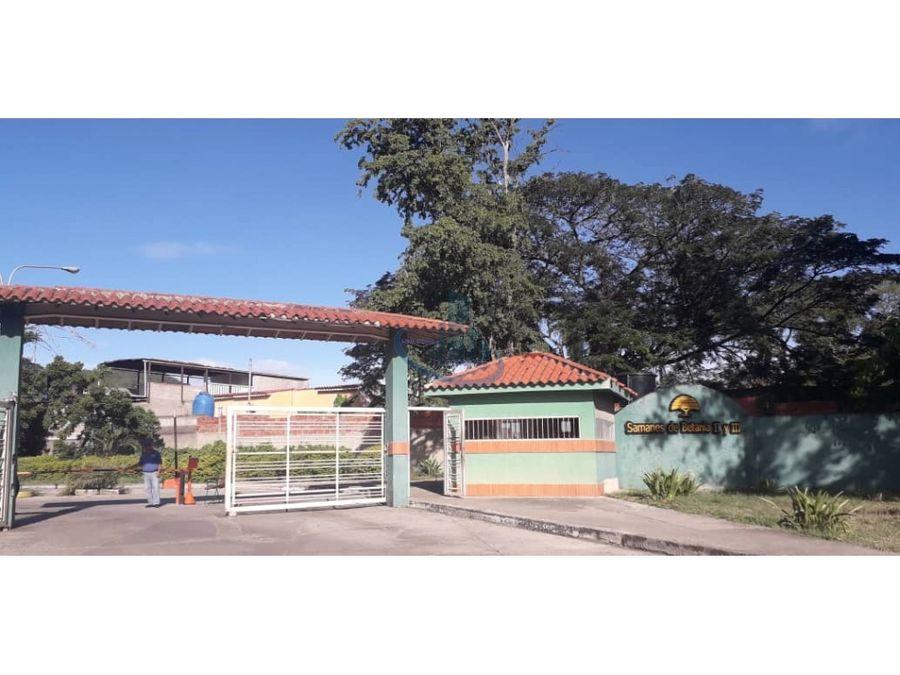 townhouse en venta charallave samanes de betania 3