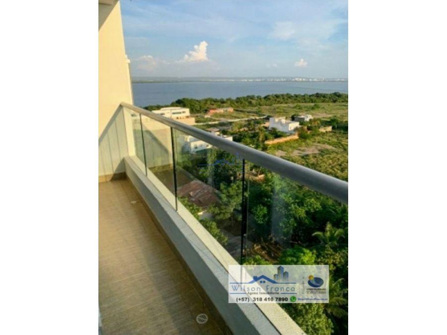 apartamento en venta zona norte vista al mar cielo mar cartagena