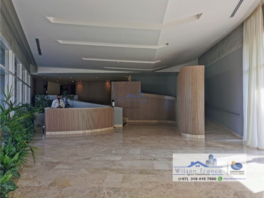 apartamento en venta amoblado morros serena del mar cartagena