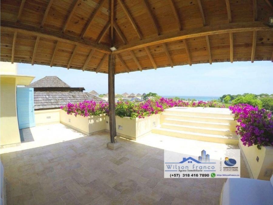 casa de playa en venta isla baru cartagena