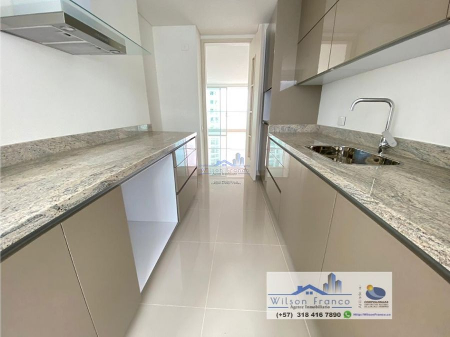 apartamento en venta nuevo castillogrande vista al mar cartagena