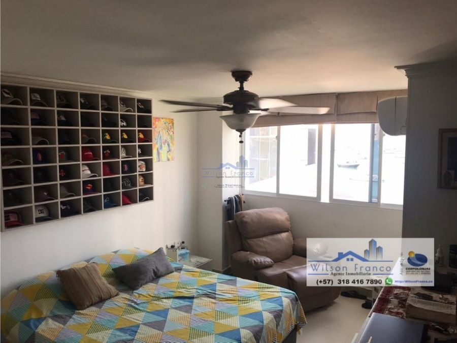 apartamento en venta barrio manga vista a la bahia de cartagena