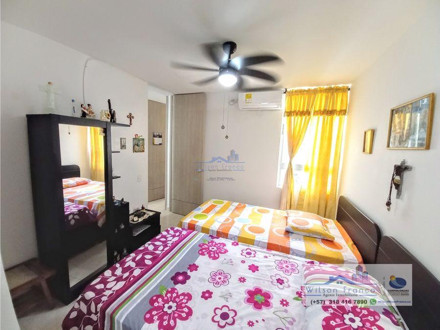 apartamento con garaje en venta condominio ciudad jardin cartagena