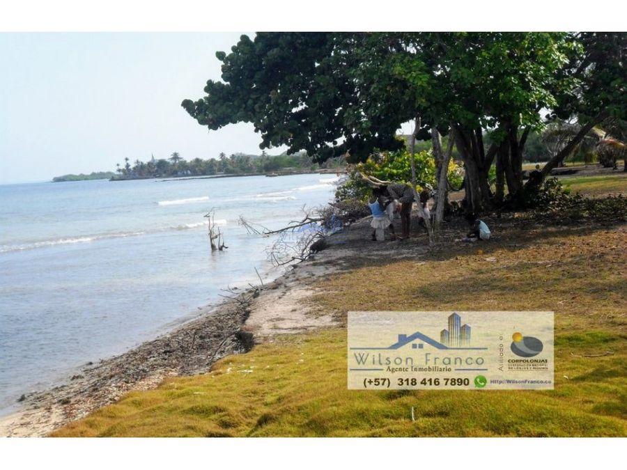 lote terreno en venta isla baru playa cartagena