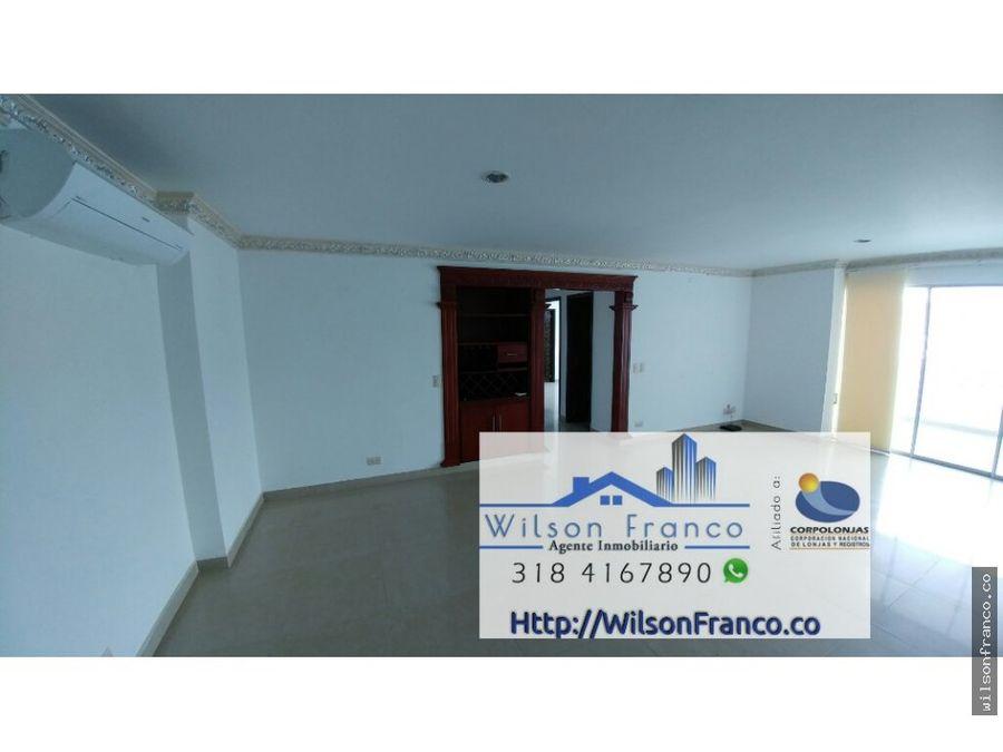 apartamento en venta barrio manga cartagena