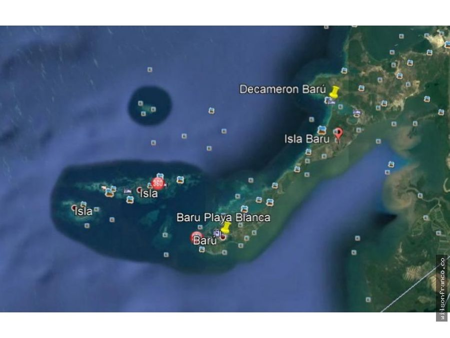 lote terreno playa venta isla baru cartagena