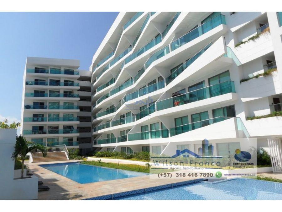 apartamento en venta cielo mar frente al mar cartagena