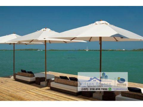 hotel en venta cholon isla baru cartagena