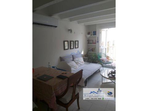 apartamento en venta tipo colonial centro historico cartagena