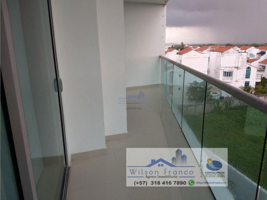apartamento en venta cielo mar frente al mar boquilla cartagena