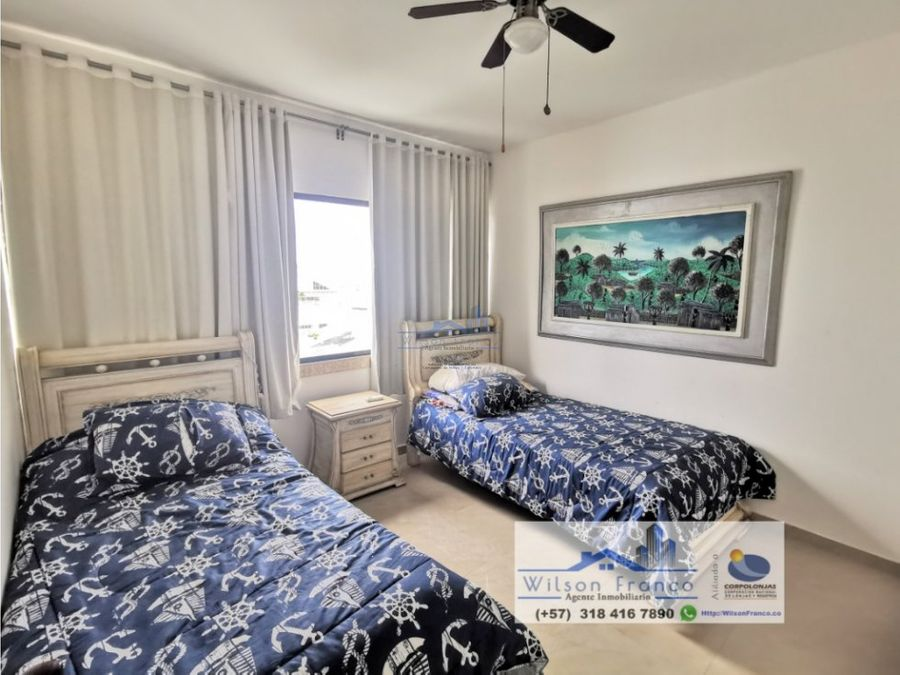 apartamento en venta duplex bocagrande cartagena de indias
