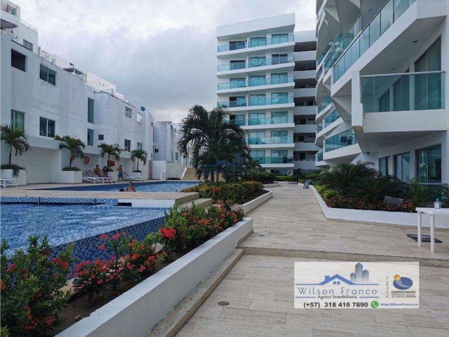 apartamento en venta frente a la playa cielo mar cartagena