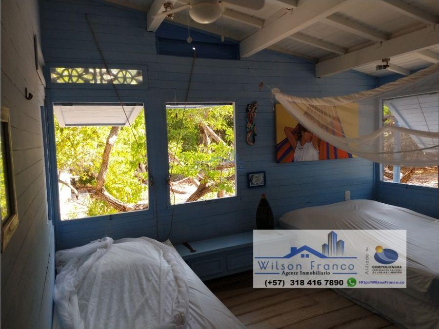 casa de playa lote terreno en venta isla baru cartagena