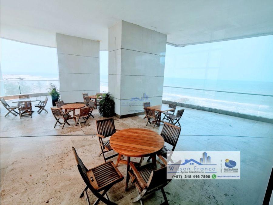 apartamento en venta palmetto bocagrande vista al mar cartagena
