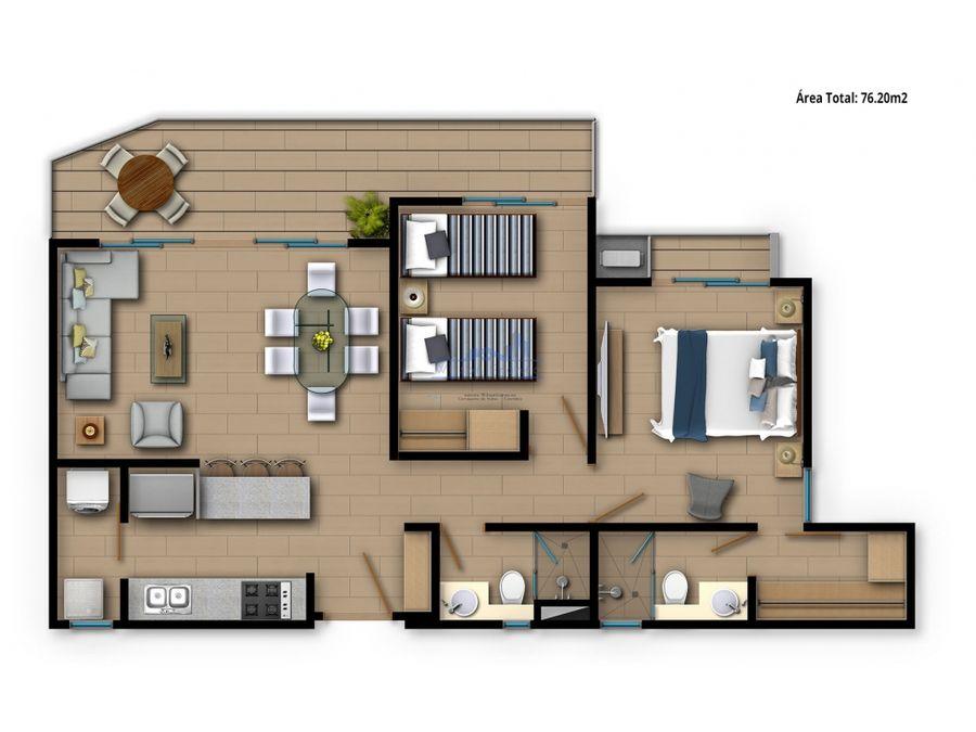 apartamento en venta zinnia club house serena del mar cartagena