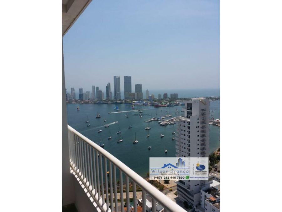 venta apartamento vista bahia manga cartagena