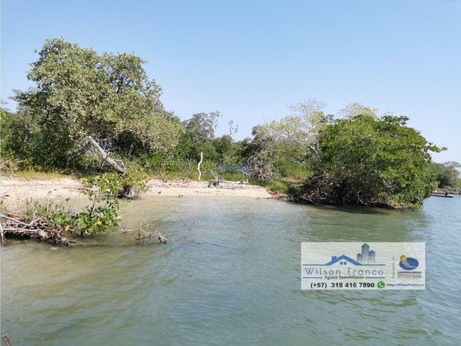 terreno en venta playa isla baru cartagena