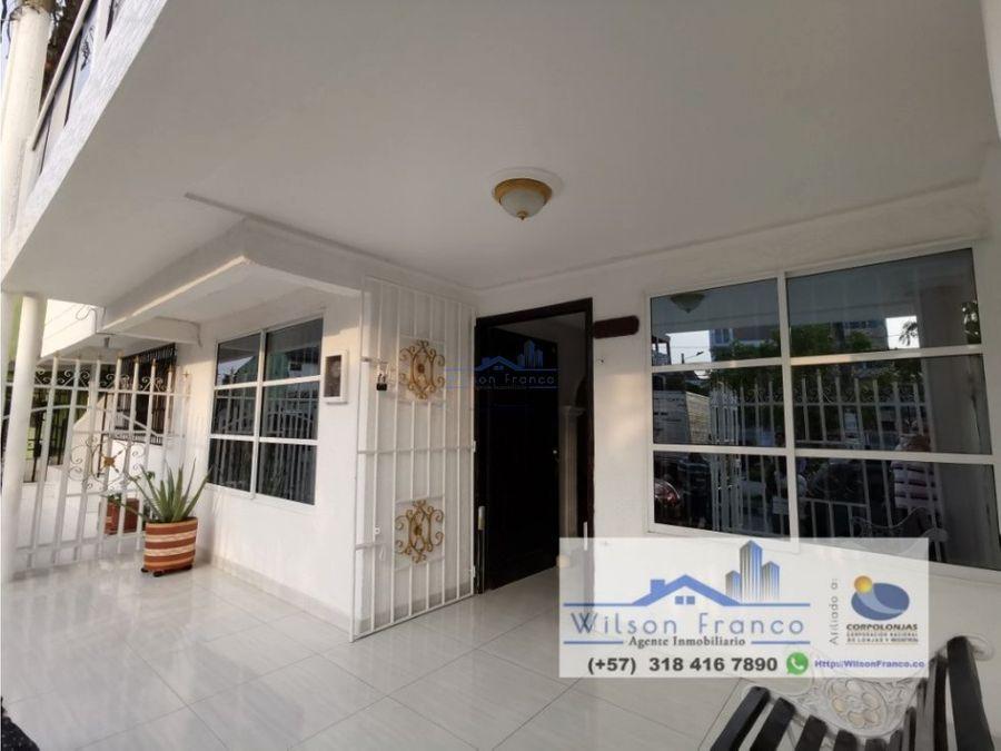 casa en venta urbanizacion san fernando cartagena de indias