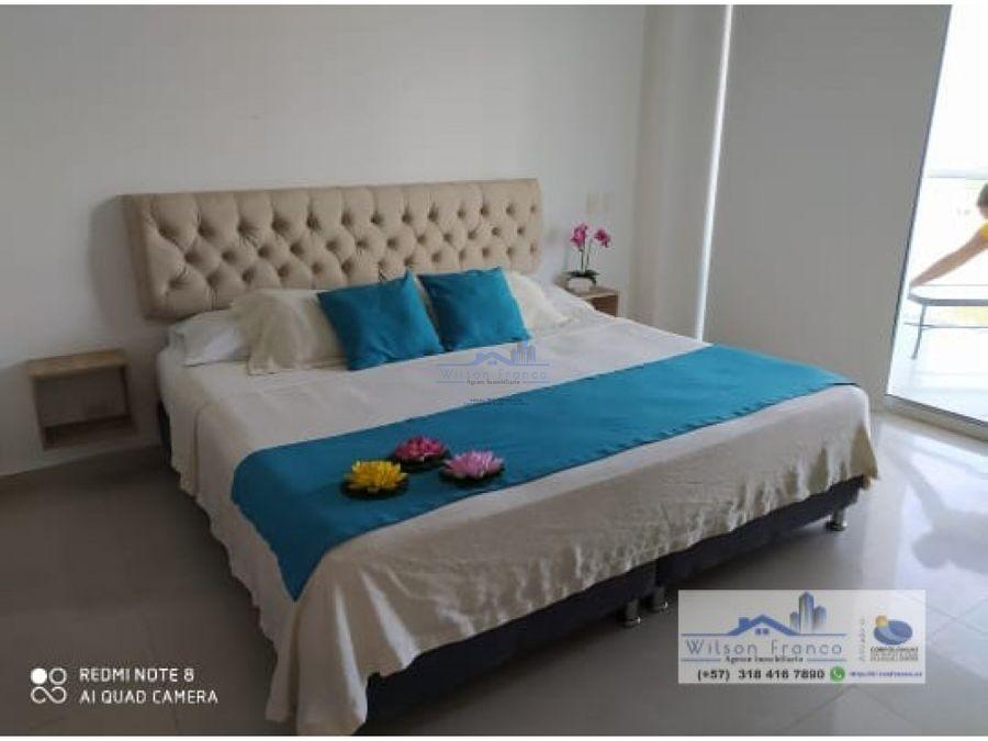 oportunidad apartamento en venta amoblado morros cartagena
