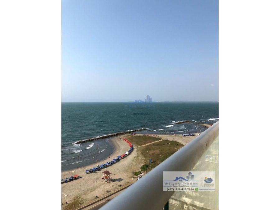 apartamento en venta estrene el cabrero vista al mar cartagena