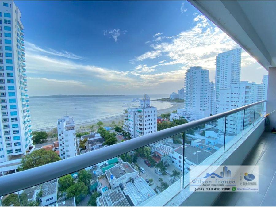 apartamento duplex en venta castillogrande vista al mar cartagena