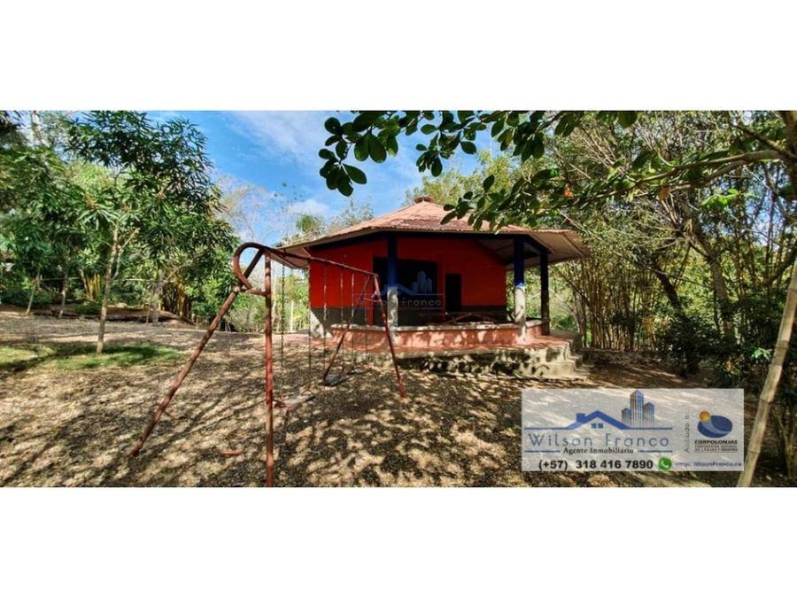casa tipo campestre en venta turbaco cerca de cartagena