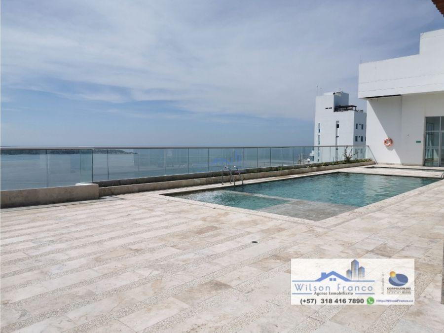 apartamento nuevo en venta castillogrande vista al mar cartagena