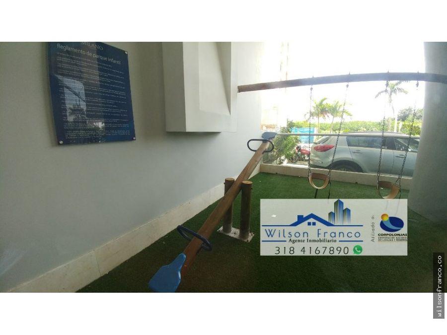 venta apartamento milano el cabrero cartagena