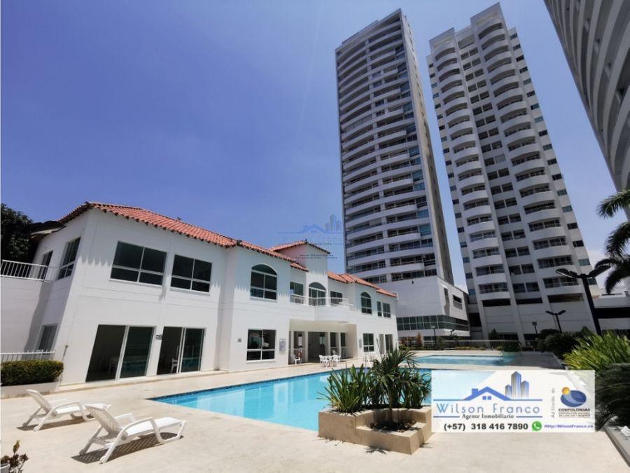 apartamento en venta condominio club house manga cartagena