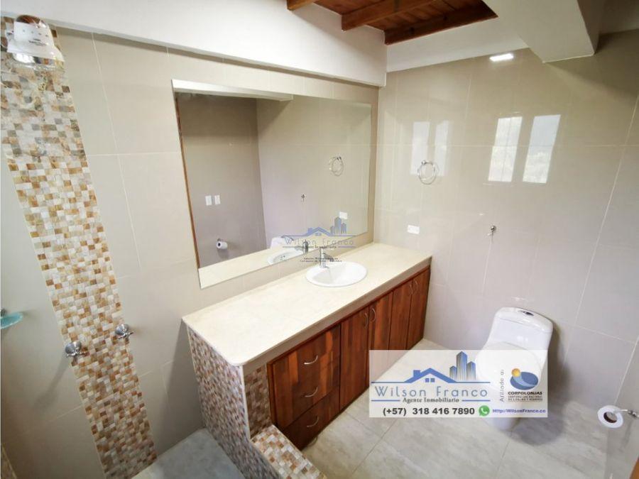venta casa tipo campestre condominio via turbaco