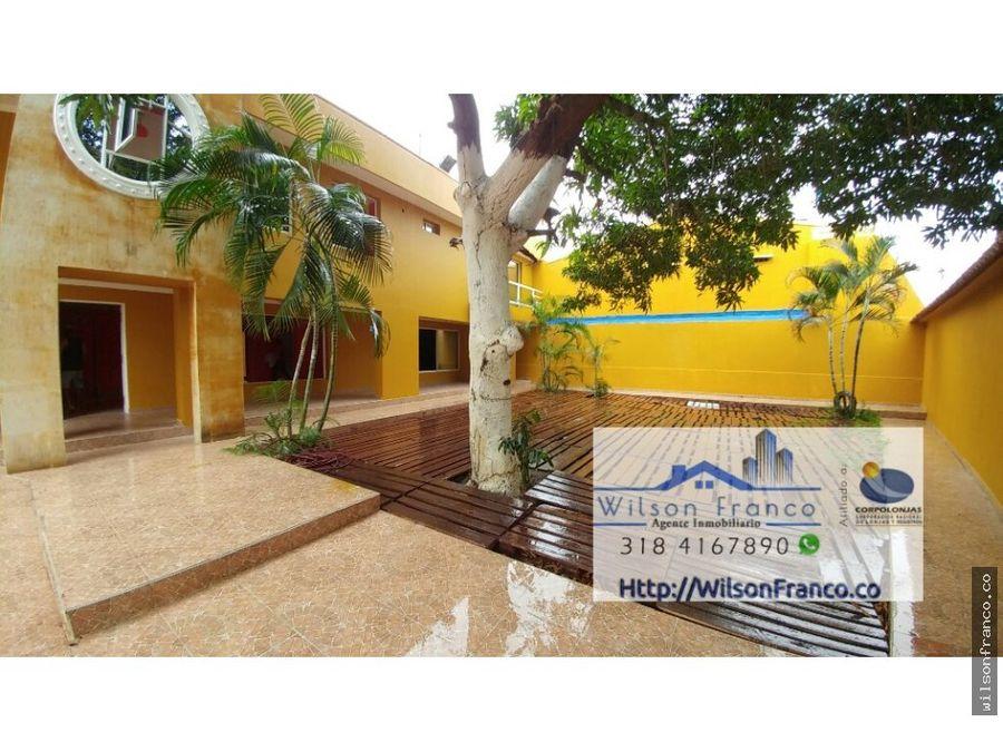casa en venta mansion providencia cartagena